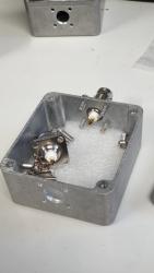 Assembling the BNC connectors