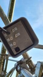Switch box mounted
