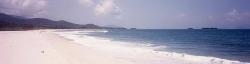 Beautiful white sandy beaches