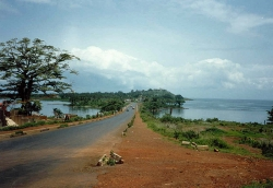 Road to Solar Village