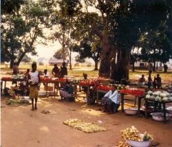 Small vegatble market