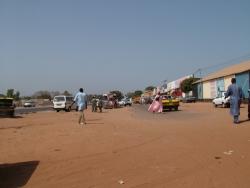 At the outskirts of Banjul
