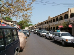 Street downtown Banjul