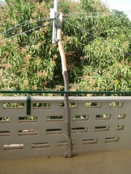 Antenna post
