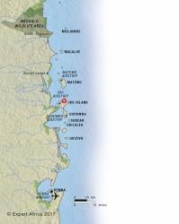 Ibo Island location
