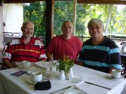John 9M6XROϮ, Gerben PG5M and Steve 9M6DXX
