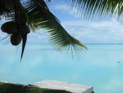 Beautiful view at the lagoon