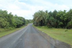 Main road to Maap