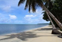 Beach at Yap Island