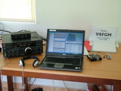 V8FGM station