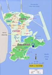 Location of Grand Coloane Resort