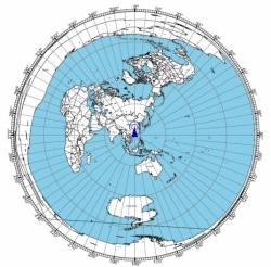 Great Circle Map