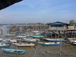 The harbor at Port Klang
