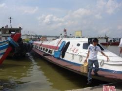 Fast ferry to Pulau Ketam