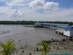 Ferry terminal at Pulau Ketam