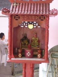 Small Chinese sacrifice place