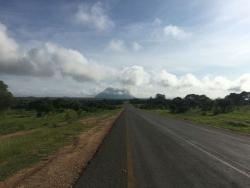 Nice tarmac road north of Beira
