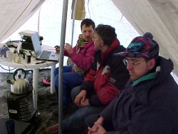 Operating tent