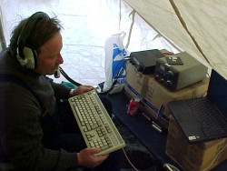 Jacek operating HF