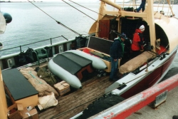 Stowing the cargo