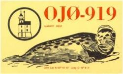 SWL OJ0-919 QSL
