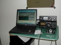 Simple radio set-up