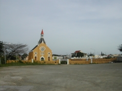 Church in typical color