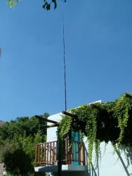 10m long mast