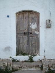 Very old door
