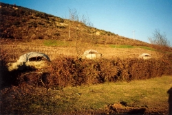 Typical Albanian shelters